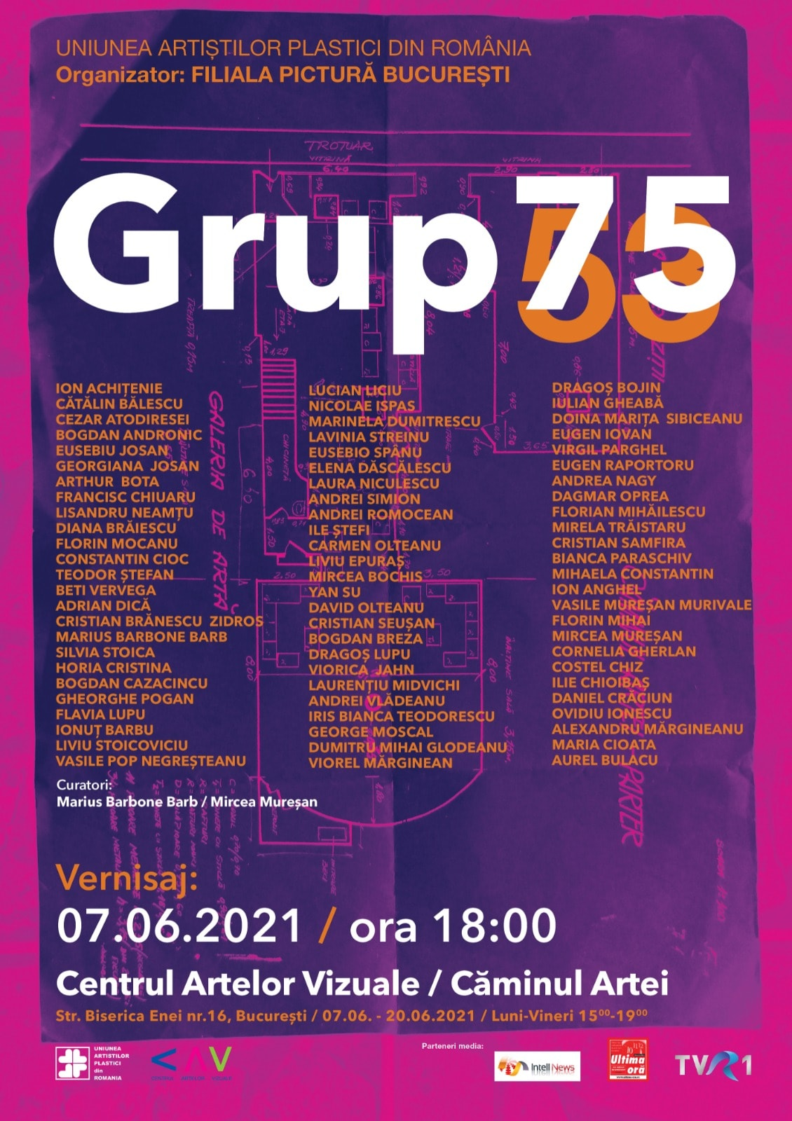 Grup 75 arta contemporana